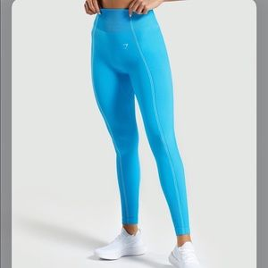 NWT Gymshark Ultra Seamless Leggings In Blue